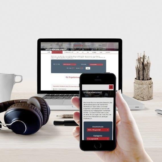 campus Kärnten webdesign-1