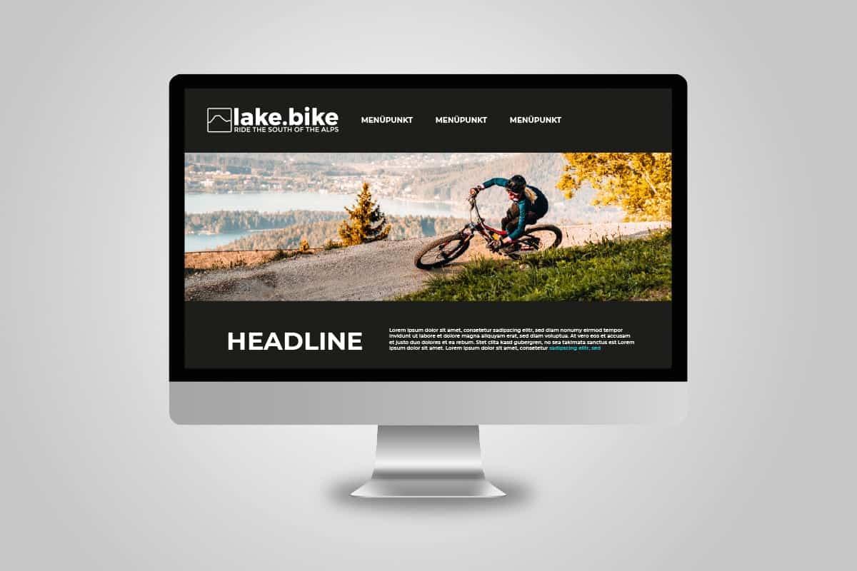 lakebike-website-mockup