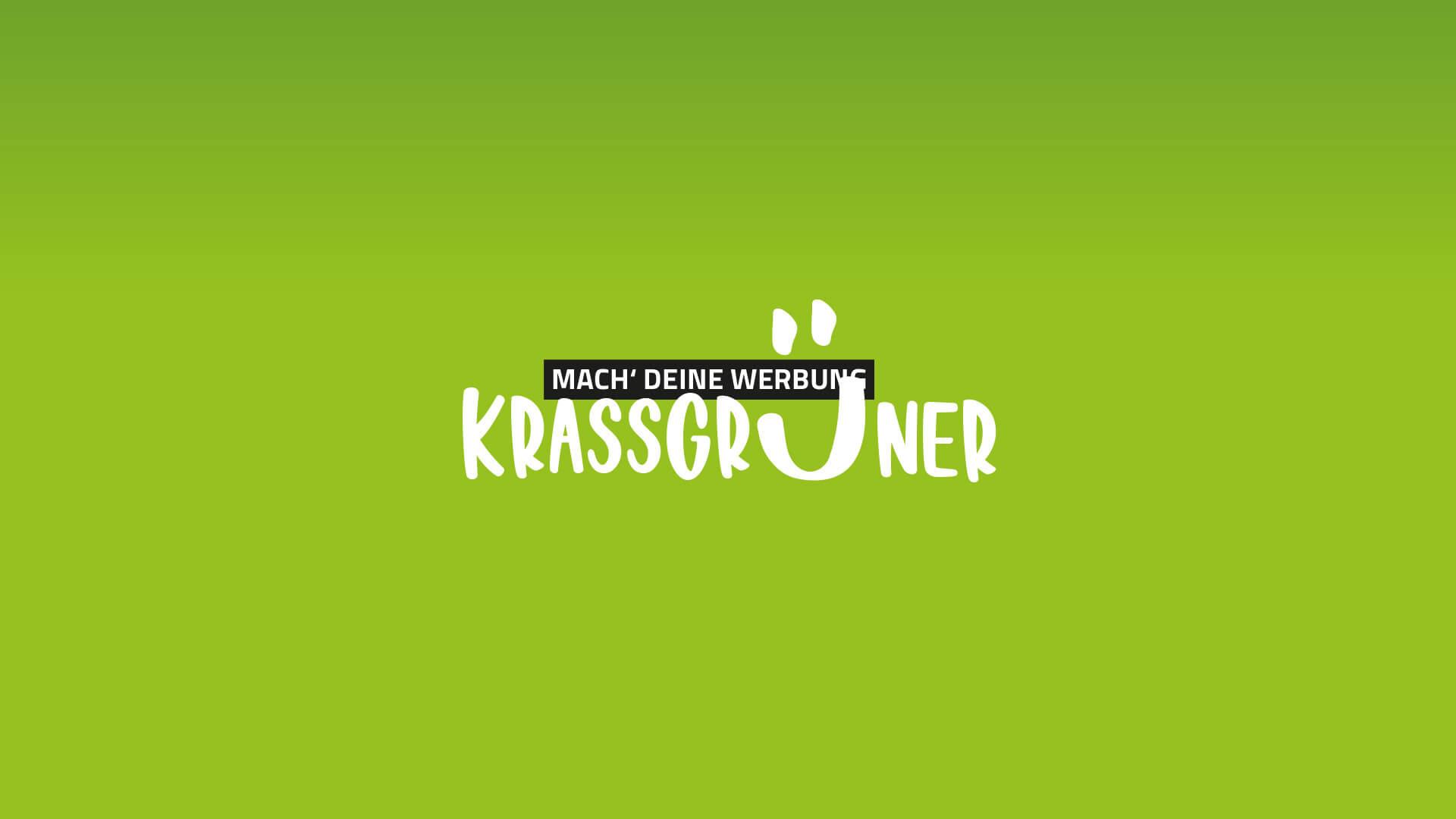 Mach' deine Werbung krassgrüner
