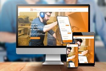 Webdesign Agentur Villach krassgrün.at - Website für Safety Communications