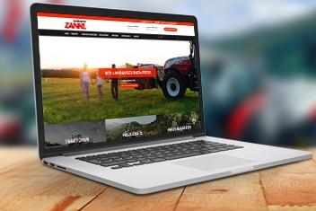 Webdesign Agentur Villach krassgrün.at - Website für Landtechnik Zankl